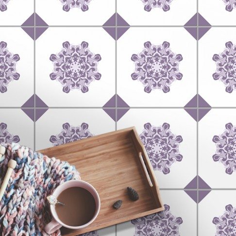 Fliesenaufkleber für Bodenfliesen in Küche und Bad Anneliese