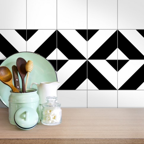 Fliesenaufkleber für die Küche Littos