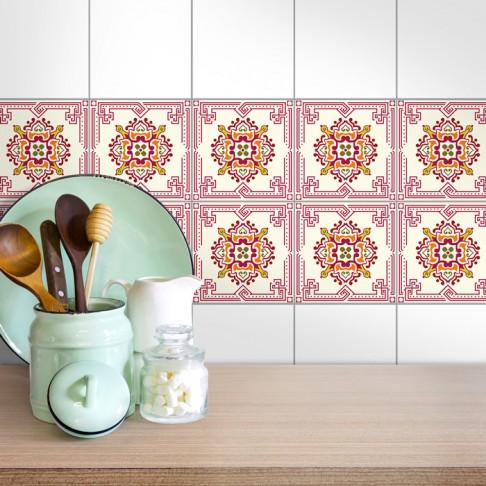 Fliesenaufkleber für die Küche Sarina