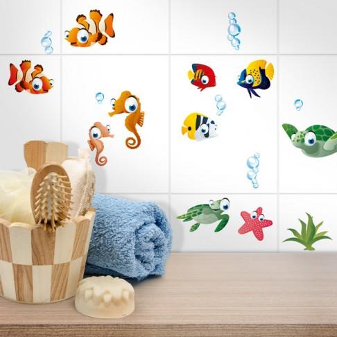 Fliesensticker Unterwasserwelt