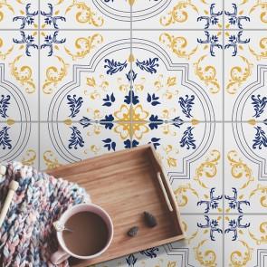 Fliesenaufkleber für Bodenfliesen  in Küche und Bad Leni