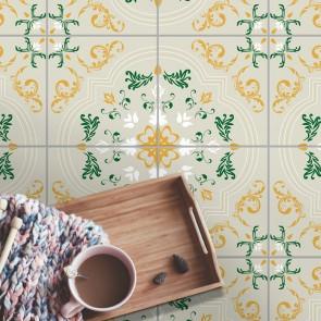Fliesenaufkleber für Bodenfliesen  in Küche und Bad Mathilda