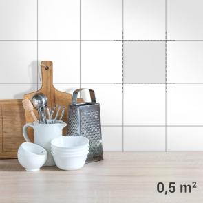 Fliesenaufkleber 0,5qm Küche
