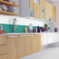 6x6cm Fliesenaufkleber Küche