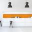 9,5x9,5cm Fliesenaufkleber Küche
