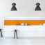 9,6x9,6cm Fliesenaufkleber Küche