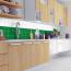 10x10cm Fliesenaufkleber Küche