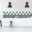 14,9x14,9cm Fliesenaufkleber Küche