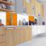 25x33cm Fliesenaufkleber Küche